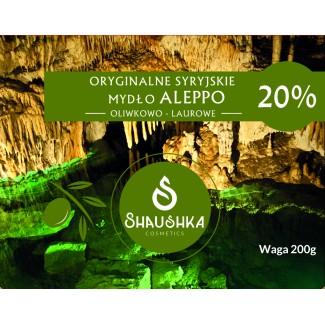 Pakiet 2 mydła ALEPPO 20% -...