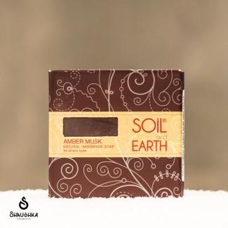 Mydło SOIL&EARTH Amber Musk