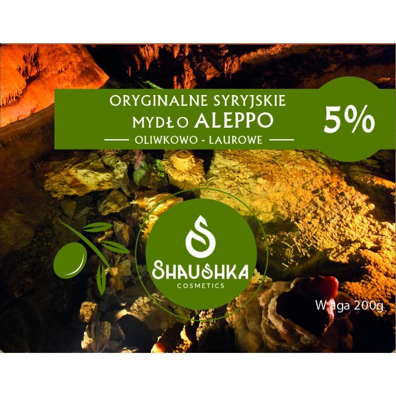 SYRYJSKIE MYDŁO ALEPPO 5%